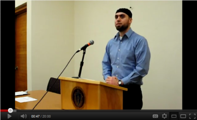 Muslim Leadership in America & The Role of the Muslim Chaplain (Lecture)