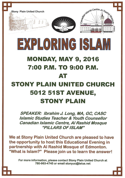 Exploring Islam Flyer