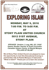 Exploring Islam Flyer